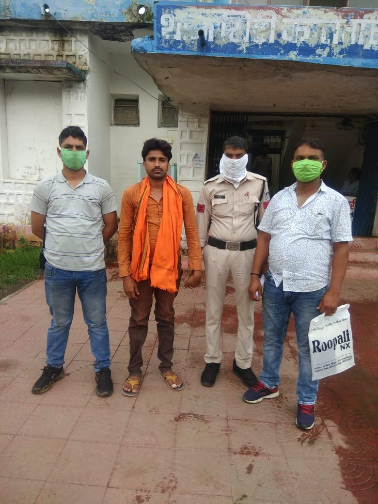9 वर्षो से फरार स्थाई वारंटी को कोतवाली पुलिस ने किया गिरफ्तार